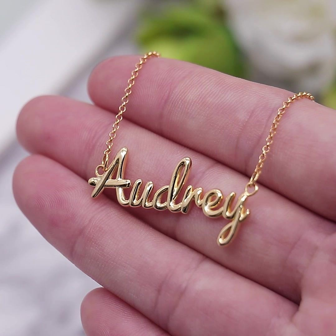 Personalized 3D Name Necklace