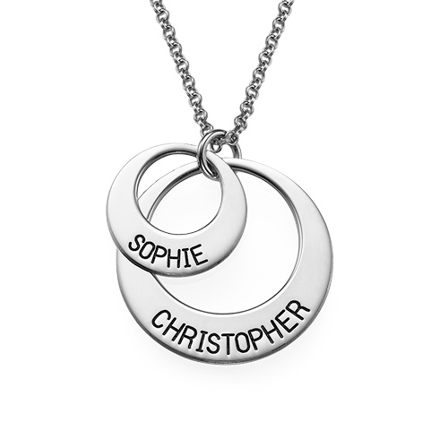 Jewelry for Moms - Disc Necklace