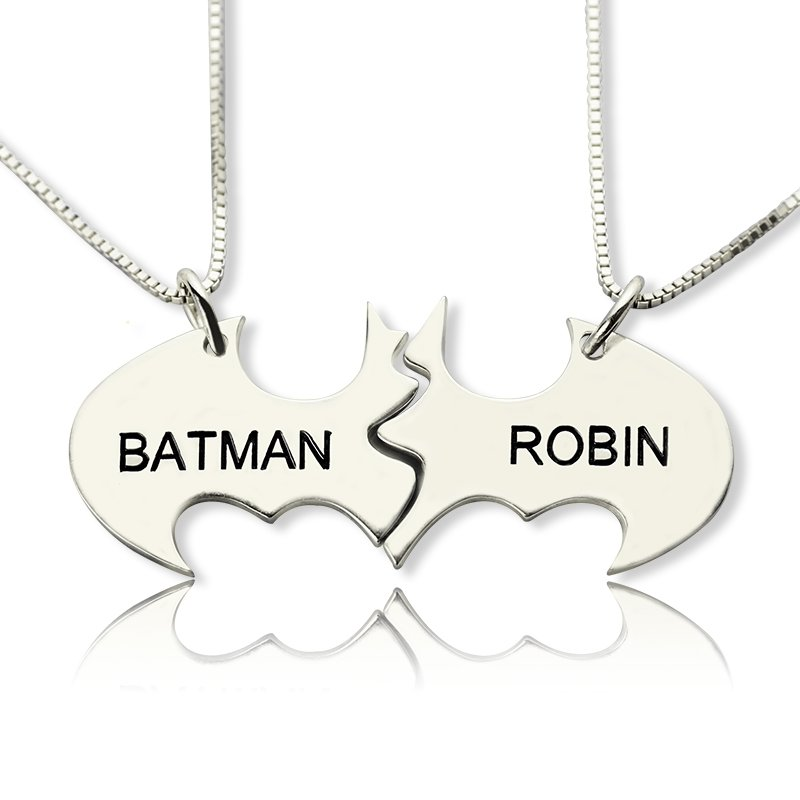 Batman Name Necklaces